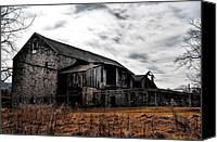 Ruin Canvas Prints - The Barn at Pawlings Farm Canvas Print by Bill Cannon