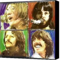 Liverpool England Canvas Prints - The Beatles - Let it Be Canvas Print by Russell Pierce