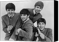 Beatles Canvas Prints - The Beatles, 1963 Canvas Print by Granger