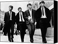 Portrait Photo Canvas Prints - The Beatles Canvas Print by Granger