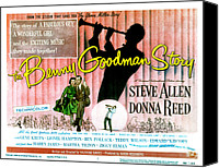 1955 Movies Canvas Prints - The Benny Goodman Story, Donna Reed Canvas Print by Everett