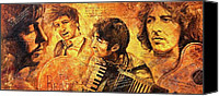 The Beatles. Celebrity Portraits Canvas Prints - The Best Forever Canvas Print by Igor Postash