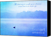 Swim Canvas Prints - The Best Way Canvas Print by Darren Fisher