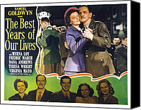 1946 Movies Canvas Prints - The Best Years Of Our Lives, Myrna Loy Canvas Print by Everett