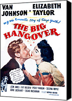 1950 Movies Canvas Prints - The Big Hangover, Van Johnson Canvas Print by Everett