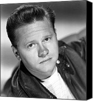 Publicity Shot Canvas Prints - The Big Wheel, Mickey Rooney, 1949 Canvas Print by Everett