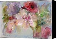 Mary Wolf Canvas Prints - The Bouquet Canvas Print by Mary Wolf