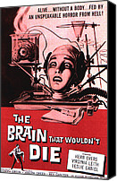 Decapitation Canvas Prints - The Brain That Wouldnt Die, Virginia Canvas Print by Everett