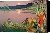 Robinson Canvas Prints - The Call of the Sea Canvas Print by Frederick Cayley Robinson
