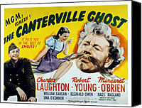 Posth Canvas Prints - The Canterville Ghost, Robert Young Canvas Print by Everett