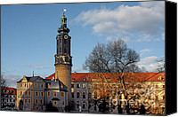 Unesco Canvas Prints - The Castle - Weimar - Thuringia - Germany Canvas Print by Christine Till