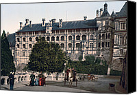 Francis Canvas Prints - The Castle in Blois - France Canvas Print by International  Images