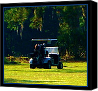 Cart Driving Canvas Prints - The Cecil Pines Residents-2 Canvas Print by Sherry Gombert