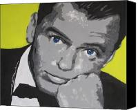 Frank Sinatra Drawings Canvas Prints - The Chrysalid  Canvas Print by Eric Dee