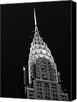 Art Deco Canvas Prints - The Chrysler Building Canvas Print by Vivienne Gucwa