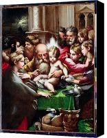 Rabbi Canvas Prints - The Circumcision Canvas Print by Francesco Mazzola Parmigianino