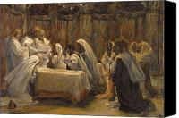 Tissot Canvas Prints - The Communion of the Apostles Canvas Print by Tissot
