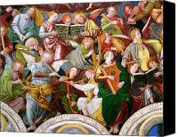 Fresco Canvas Prints - The Concert of Angels Canvas Print by Gaudenzio Ferrari