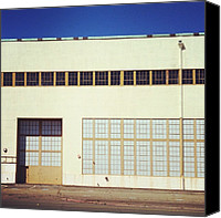 Igerseastbay Canvas Prints - The Constant :industrial Facade Series: Canvas Print by Resonate Iphoneography
