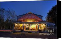 Corner Cafe Canvas Prints - The Corner Store  Canvas Print by John Greim