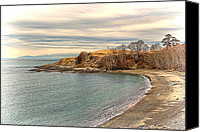 Fine Art Print Photo Canvas Prints - The Cove - San Juan Island Washington State Canvas Print by James Heckt