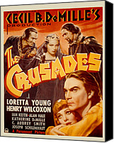 1935 Movies Canvas Prints - The Crusades, Joseph Schildkraut Canvas Print by Everett