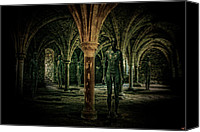 Ruin Canvas Prints - The Crypt Canvas Print by Chris Lord