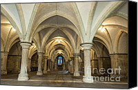 2012 Digital Art Canvas Prints - The Crypt Canvas Print by Donald Davis