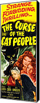 Insert Poster Canvas Prints - The Curse Of The Cat People, Clockwise Canvas Print by Everett