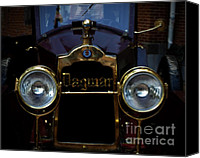 Antique Automobiles Digital Art Canvas Prints - The Dagmar  Canvas Print by Steven  Digman