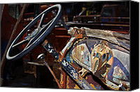Phyllis Denton Canvas Prints - The Dashboard Canvas Print by Phyllis Denton