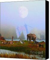Headlands Canvas Prints - The Day After Armageddon At The San Francisco Zoo Canvas Print by Wingsdomain Art and Photography