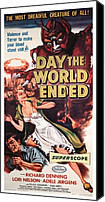 1956 Movies Canvas Prints - The Day The World Ended, Richard Canvas Print by Everett