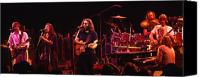 Grateful Dead Canvas Prints - The Dead 78 Canvas Print by Steven Sachs