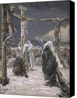 Onlookers Canvas Prints - The Death of Jesus Canvas Print by Tissot