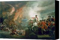 Loss Painting Canvas Prints - The Defeat of the Floating Batteries at Gibraltar Canvas Print by John Singleton Copley