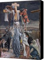 Crying Canvas Prints - The Descent from the Cross Canvas Print by Tissot