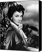1953 Movies Canvas Prints - The Desert Song, Kathryn Grayson, 1953 Canvas Print by Everett