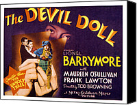 Posth Canvas Prints - The Devil Doll, Frank Lawton, Maureen Canvas Print by Everett