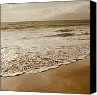 Hawaii Beach Art Canvas Prints - The Divine Music of Love Canvas Print by Sharon Mau