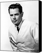 Publicity Shot Canvas Prints - The Doctor And The Girl, Glenn Ford Canvas Print by Everett