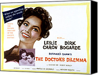 Fid Canvas Prints - The Doctors Dilemma, Leslie Caron, Dirk Canvas Print by Everett
