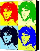 Storm Prints Canvas Prints - The Doors And Jimmy Canvas Print by Robert Margetts
