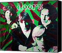 Morrison Canvas Prints - The Doors Canvas Print by Joshua Morton