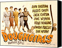 Fod Canvas Prints - The Doughgirls, Ann Sheridan, Alexis Canvas Print by Everett