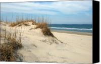 Nc Canvas Prints - The Dunes Canvas Print by Kelvin Booker