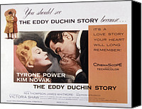 1956 Movies Canvas Prints - The Eddy Duchin Story, Kim Novak Canvas Print by Everett