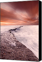 Long Canvas Prints - The edge of earth Canvas Print by Jorge Maia
