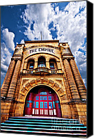 Unused Canvas Prints - The Empire Theatre Canvas Print by Meirion Matthias