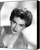 1950s Portraits Canvas Prints - The End Of The Affair, Deborah Kerr Canvas Print by Everett
